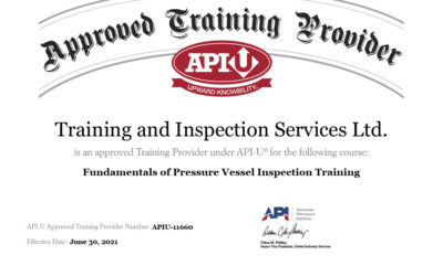 Fundamentals of Pressure Vessel Inspection