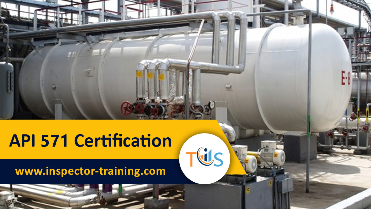 API 571 Certification