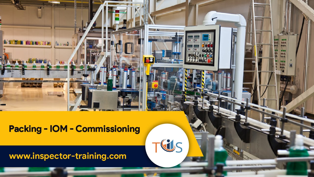 Packing - IOM- Commissioning